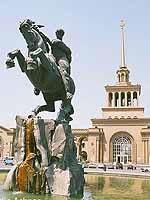 David of Sasun, Yerevan