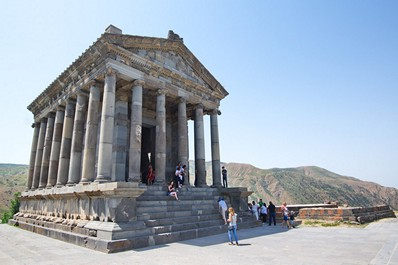 Temple of the Sun, Garni, Armenia