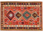 Azerbaijani carpets: Kilim. Wool. Lint-free. The end of the 19th century. Shirvan group