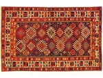 Azerbaijani carpets: Carpet named Shirvan. Wool. Worsted. The end of the 19th century. Shirvan group
