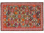 Azerbaijani carpets: Carpet named Khilya - Afshan. Wool. Worsted. Baku group