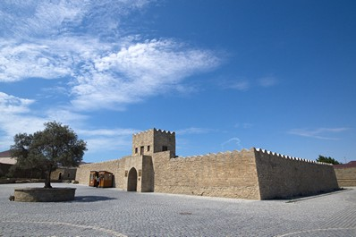 The Ancient Zoroastrian Temple Ateshgah, Baku