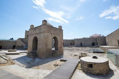 The Ancient Zoroastrian Temple Ateshgah, Baku