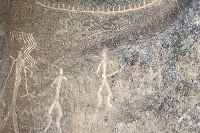 Gobustan rock drawings