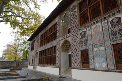 Cung điện Sheki Khans, Azerbaijan