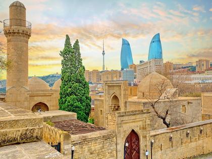 Azerbaijan Tour to Baku, Absheron Peninsula, Gobustan, Khinalug, Lahij, Sheki, Kish, Shemakha