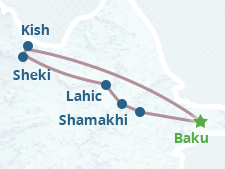 Tour to Sheki and Lahij (Lahic)