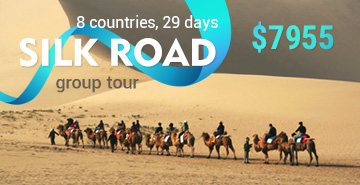 Great Silk Road Tour 2: Heart of Central Asia and Soul of Caucasus