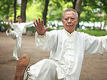 Tai Chi - a traditional Chinese martial art