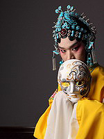 Actor of the traditional Chinese Opera Theatre