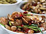 Chinese Cuisine: sea scallop
