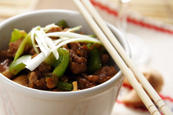 Chinese food classic dishes and specialties of the regions in china chinese cuisine spicy chicken with green pepper and rice forumfinder Gallery
