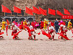 Holidays in China. Festive performance