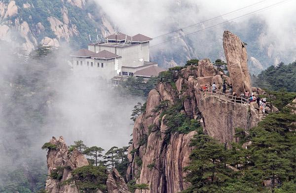Dizzy Trekking To The Sacred Mount Huashan Summit