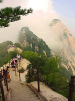 Mount Huashan in Shaanxi Province, China