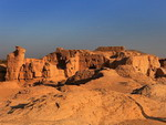 The ancient city of Jiaohe, Turpan