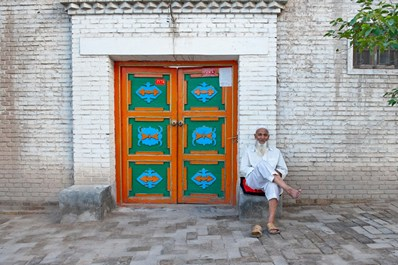Local man in Kashgar