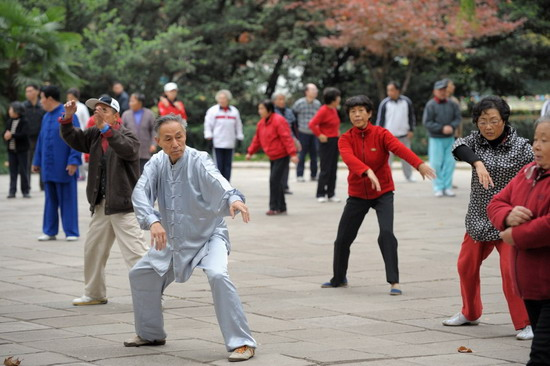 Chinese martial arts - basis of physical and spiritual perfection of