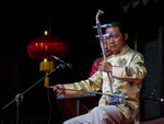 Erhu - a traditional Chinese instrument