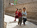 Population of China: Uighur children in Kashgar