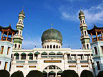 Muslim mosque in Qinghai Province, China