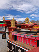 The Jokhang Temple in Lhasa, Tibet