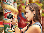 The photographing of the local tourist attractions, China