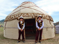 Silk Road Tour 1: Tours in Kyrgyzstan, China, Kazakhstan