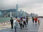 Hong Kong, China: The monsoon season