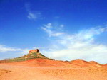 Yanguan Pass in  the vicinity of Dunhuang, China