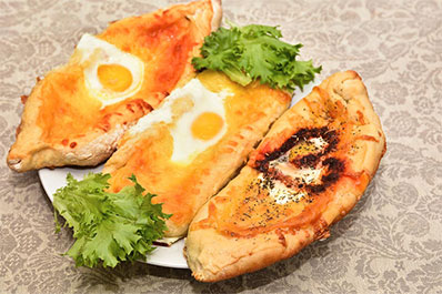 Khachapuri, Georgian Cuisine, Georgia Travel