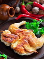 Georgian cuisine - tabaka chicken