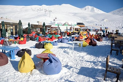 Gudauri ski resort, Georgia