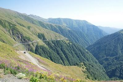 Mountain scenery, Kakheti
