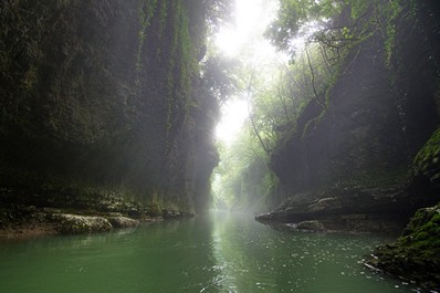 Мartvili Canyon, Kutaisi vicinities