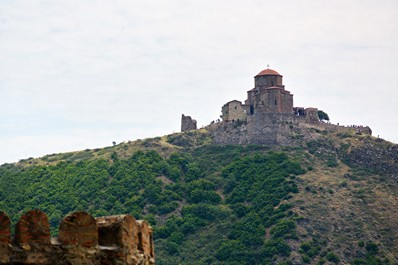 The monastery temple Jvari, Mtskheta