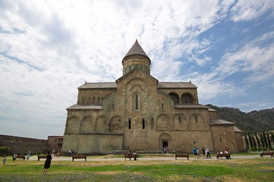 Svetitskhoveli Cathedral in Mtskheta