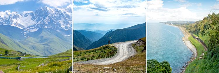 Природа Грузия