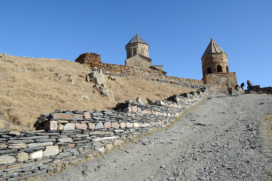 Sights of Stepantsminda – Gergeti Trinity Church