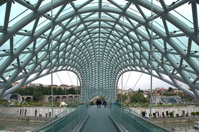The Bridge of Peace, Tbilisi