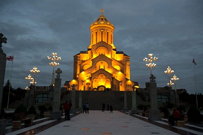 Sameba Cathedral in Tbilisi