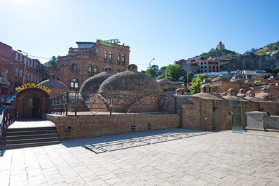 Tbilisi sights - sulfuric baths