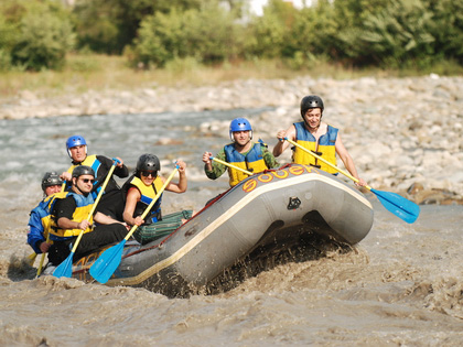 Rafting Tour in Georgia: down the Rioni River