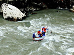 Rafting on Rioni