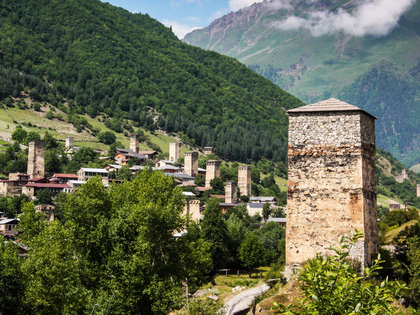 Svaneti Tour by Train