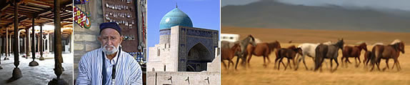 Central Asia and Silk Road Tourism