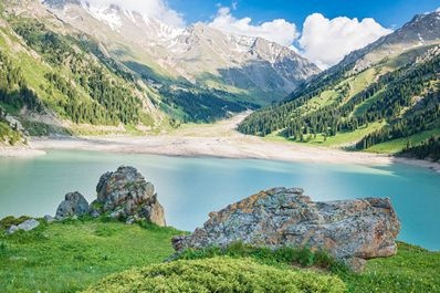 Big Almaty lake, Almaty vicinity, Kazakhstan