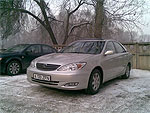 Almaty airport transfer with Toyota Camry