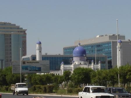 Atyrau Kazakhstan Tourist attractions of the former Guryev city