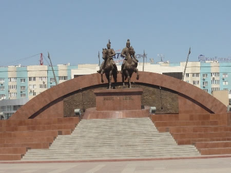 Atyrau Kazakhstan Tourist Attractions Of The Former Guryev City